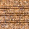 Epoch Architectural Surfaces 0.625'' x 0.625'' Travertine Mosaic Tile in Gold