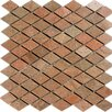 Epoch Architectural Surfaces Diamond Slate Mosaic Tile in Copper