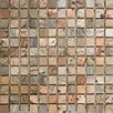"""Epoch Architectural Surfaces 1"""" x 1"""" Slate Mosaic Tile in Copper"""