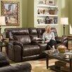 Simmons Upholstery Abilene Motion Loveseat