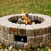 The Outdoor GreatRoom Company Round Do-It-Yourself Hardscape Gas Fire Pit Kit