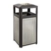 Safco Products Company Evos Series 38-Gal Steel Waste Receptacle