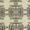 DwellStudio Soft Scrolls Fabric - Jet