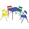Cosco Home and Office Kids 5 Piece Rectangle Table and Chair Set