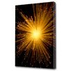 Menaul Fine Art 'Fiber Optics Explosion' by Scott J. Menaul Graphic Art on Wrapped Canvas