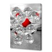 Menaul Fine Art '12 Spheres Black and White' by Scott J. Menaul Graphic Art on Wrapped Canvas