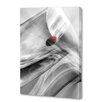 Menaul Fine Art 'Ice Cube and Red' by Scott J. Menaul Graphic Art on Wrapped Canvas