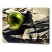 Menaul Fine Art 'Verdant Sphere' by Scott J. Menaul Graphic Art on Wrapped Canvas
