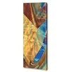 Menaul Fine Art 'Cube and Torus Vertical' by Scott J. Menaul Graphic Art on Wrapped Canvas