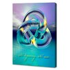 Menaul Fine Art 'No Beginning. No End' by Scott J. Menaul Graphic Art on Wrapped Canvas