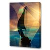 Menaul Fine Art 'Late Afternoon' by Scott J. Menaul Graphic Art on Wrapped Canvas