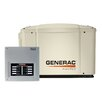 Generac Guardian PowerPact 7 Kw Air Cooled Automatic Home Standby Generator 50 Amp 8 Circuit Transfer Switch without Whip