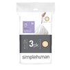 simplehuman Code Q Custom Fit Liners (60 Count)