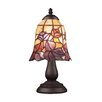"""Elk Lighting Mix-N-Match Stlye 17 13"""" H Table Lamp with Bell Shade"""