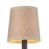 """Elk Lighting 5"""" Linen Drum Lamp Shade"""