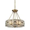 Elk Lighting Preston 4 Light Drum Pendant