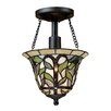 Elk Lighting Latham 1 Light Semi Flush Mount