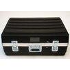 Platt Heavy-Duty ATA Case with Wheels and Telescoping Handle in Black: 23 x 33.25 x 13.75