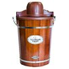 Nostalgia Electrics Old Fashioned 6 Qt. Wood Bucket Ice Cream Maker