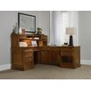 "Hooker Furniture Clermont 19.25"" H x 72"" W Desk Hutch"