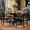Hooker Furniture Indigo Creek Pedestal Dining Table in Black