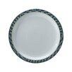 """Denby Azure Shell 10.5"""" Dinner Plate (Set of 4)"""