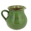 French Home 1.5-quart Cilantro Green Stoneware Pitcher