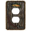 HiEnd Accents Rainbow Trout Single Outlet Cover (Set of 4)