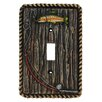 HiEnd Accents Rainbow Trout Single Switch Plate (Set of 4)
