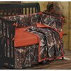 HiEnd Accents Camo 4 Piece Crib Bedding Set