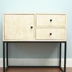 AC Pacific 2 Drawer Accent Cabinet