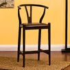 """AC Pacific Manchester 24"""" Bar Stool with Cushion"""