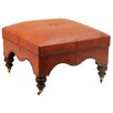 Pennisula Home Collection Co. Guell Leather Ottoman