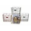 Creative Co-Op Locker Basket (Set of 4)