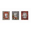 Creative Co-Op Gallery 3 Piece Wood Photo Picture Frame Set