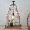 Creative Co-Op Secret Garden Iron Wire Birdcage 1 Light Pendent