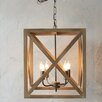 Creative Co-Op Turn of the Century 4 Light Chandelier