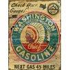 Vintage Signs Washington Gas Vintage Advertisement Plaque