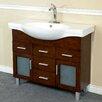 """Bellaterra Home 40"""" Single Bathroom Vanity Set"""