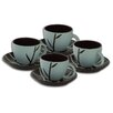 Firefly Home Collection Vivid Coffee Serving (Set of 8)