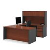 Bestar Prestige + U-Shape Executive Desk with Hutch