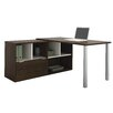 Bestar Contempo L-Shaped Writing Desk