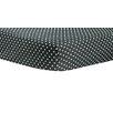 Trend Lab Ombre Gray Bedtime Dot Crib Sheet