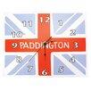 Trend Lab Paddington Bear™ Union Jack Wall Clock
