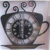Creative Motion Coffee Cup Wall Clock