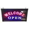 Creative Motion Welcome Open Sign