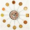 "Creative Motion 15"" Cookies and Coffee Clock"