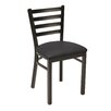 KFI Seating Upholstered Cafe Side Chair with Ladder back