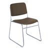 KFI Seating Armless Classroom Stacking Chair with Cushion