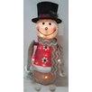 LB International Animated Snowman Christmas Decoration